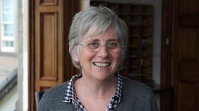 Clara Ponsatí, bregada a Escòcia per obrir els col·legis l'1-O