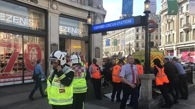 Alerta per incendi en el tren lleuger de Londres