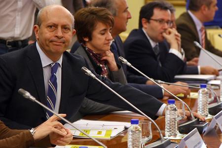 José Ignacio Wert en la Conferencia General de Universidades.