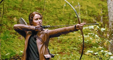 La actriz Jennifer Lawrence encarna a Katniss Everdeen, protagonista de 'Los juegos del hambre'.