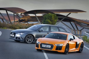 Audi R8 V10 Plus vs Audi RS 6 Avant Performance