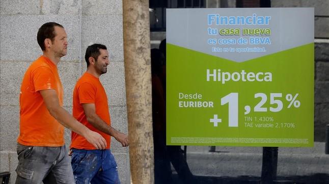 La banca lanzar en junio el nuevo eur bor for Hipoteca oficina directa