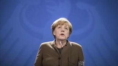 La señora Merkel va a Washington