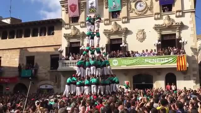 Els Castellers de Vilafranca volen tancar amb brillantor una gran temporada