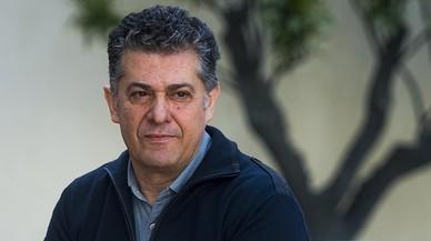 Cesc Casadesús, enel Palau de la Virreina, antes de su primera rueda de prensa como nuevo director del Grec.