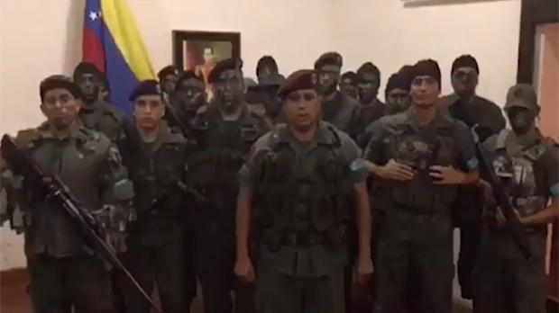 L'Exèrcit frena l'assalt a una caserna militar a Veneçuela