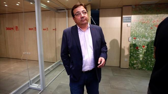 Fernández Vara: Catalunya es la única comunidad que no tiene el estatuto que quiso tener