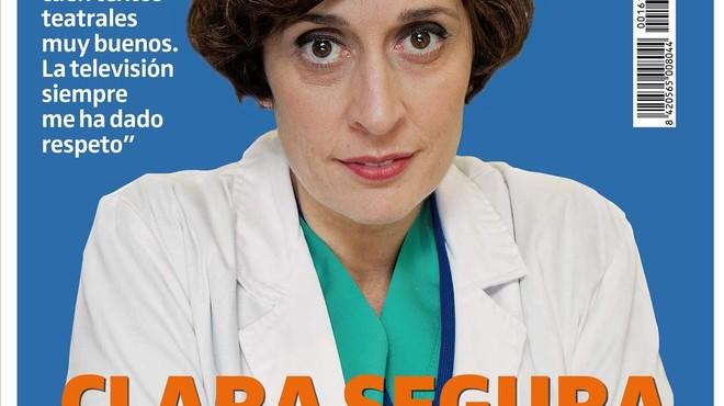 Clara Segura entra al dipòsit de cadàvers