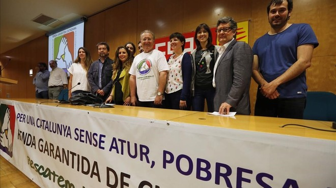 Gairebé 50 ajuntaments de Catalunya firmen una declaració contra la pobresa