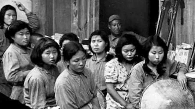 """Primeras imágenes de """"esclavas sexuales"""" de la segunda guerra mundial"""