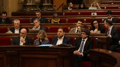 Puigdemont eleva el to de la bronca pel judici del 9-N