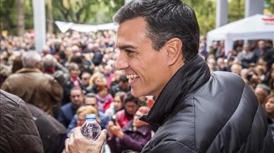 """Pedro Sánchez medita la seva candidatura amb """"moltes ganes i molta força"""""""