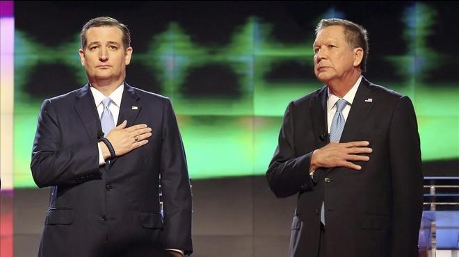Cruz i Kasich s'alien contra Donald Trump