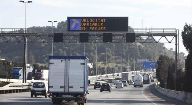 El Govern prevé un ahorro de 162 millones con la 'viñeta' en autopistas