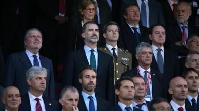 Otra pitada al himno español en la final de Copa