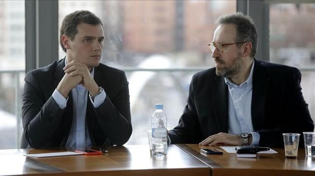 Rivera reclama reuniones de C's, PSOE y PP sin los candidatos