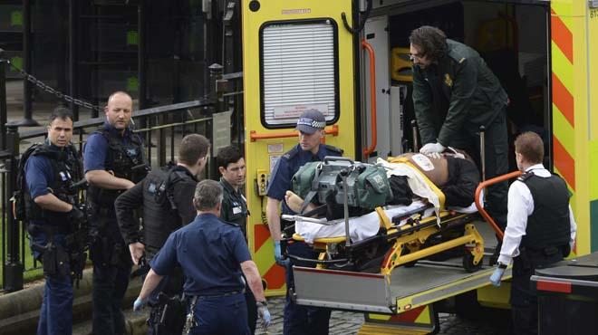 Turistes espanyols van viure de prop l'atemptat de Londres