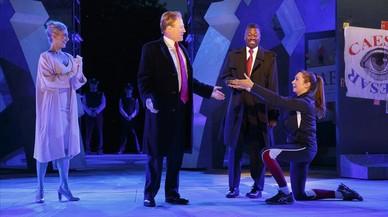 Habla Shakespeare, se indignan los defensores de Trump