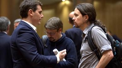 Ciutadans s'acosta a Podem davant el desdeny de Rajoy a Rivera