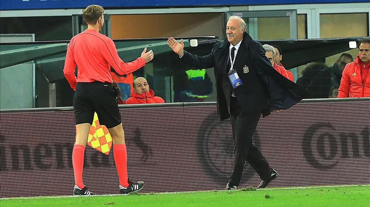 """Del Bosque: """"No me siento cansado. He sido un jugador y un entrenador maratoniano"""""""