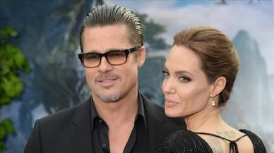 Angelina Jolie i Brad Pitt es donen una treva