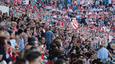 El Girona-Saragossa de la Lliga 123, en directe 'on line'