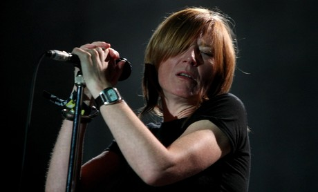 Portishead, en una actuacin en el Primavera Sound, en el 2008.