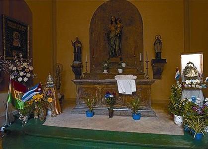 Vírgenes latinas, en la capilla del Roser, la semana pasada.