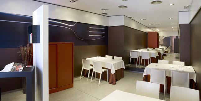 Imagen del restaurante Lluerna, en Santa Coloma.