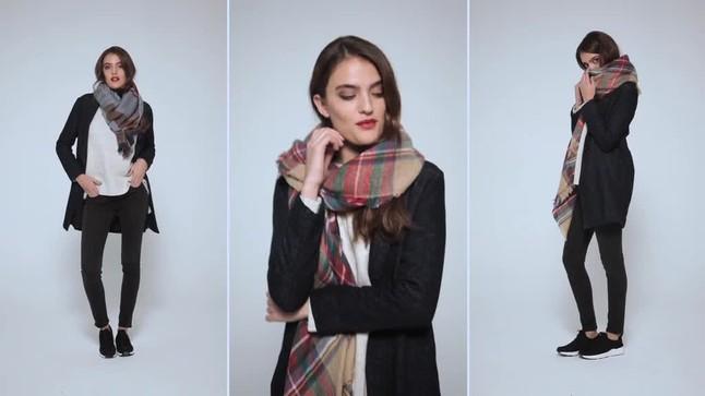 Maxi Bufandas de moda