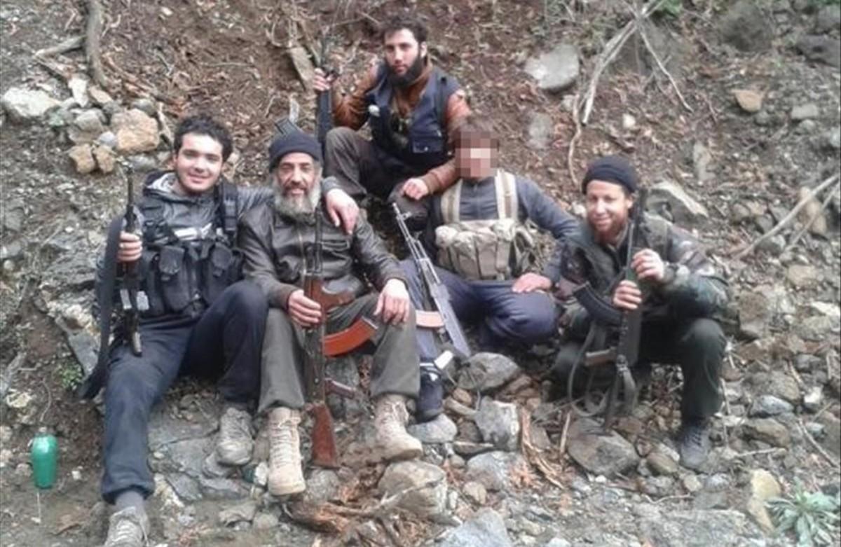 Grupo de yihadistas marroquís.