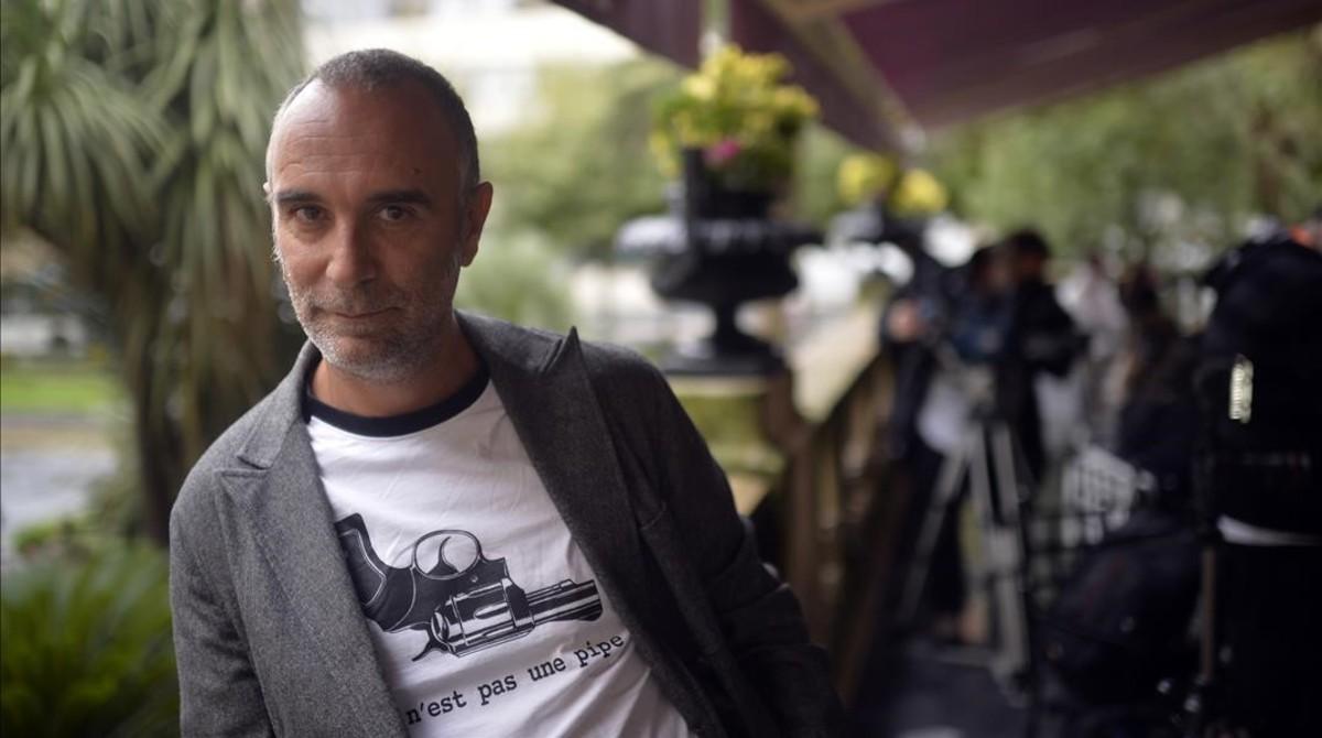 El cineasta Jo Sol, en San Sebastián, donde presentó Vivir y otras ficciones