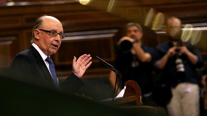 Montoro ha criticado a los grupos de la oposición que no apoyarán los Presupuestos Generales del Estado