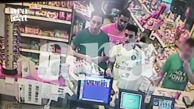 Las últimas imágenes de los terroristas de Cambrils antes del atentado