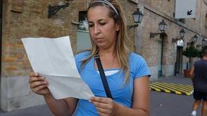 RENTA GARANTIZADA: Una solicitante de una ayuda pública de la Generalitat.