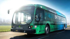 Proterra eléctrico bus récord