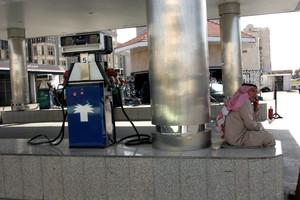 Una gasolinera en Arabia Saudí.