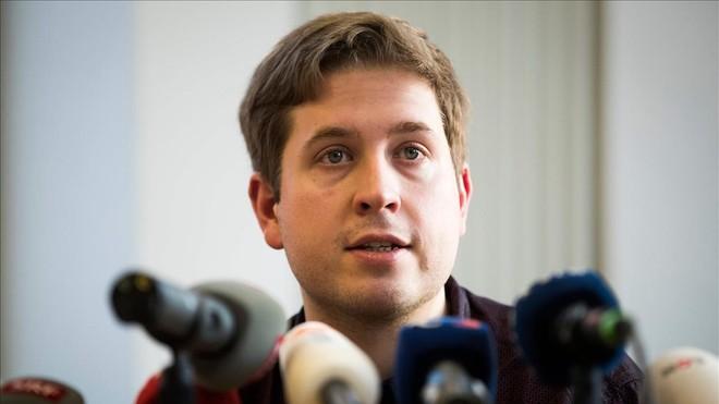 El líder de las juventudes del SPD, Kevin Kühnert