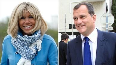 Brigitte y Louis; así son las parejas de Macron y Le Pen