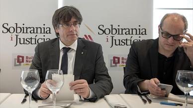 """La ultraderecha de la Falange rechazará a Puigdemont en Madrid al grito de """"separatistas ilegalización"""""""
