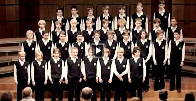 Un coro alemán deja atónito a su público