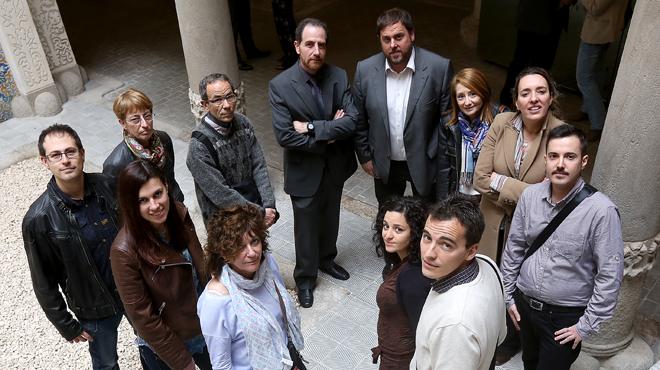 Entre Tots amb Oriol Junqueras. La valoració dels lectors.
