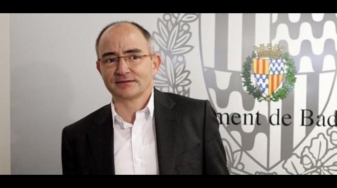 El concejal de CiU en Badalona, Ferran Falc�.