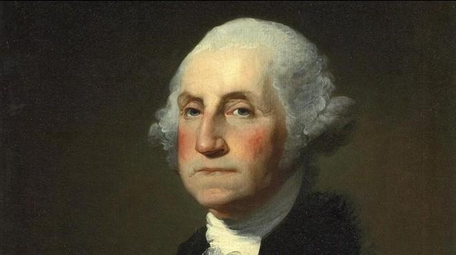 George Washington, primer presidente de Estados Unidos.