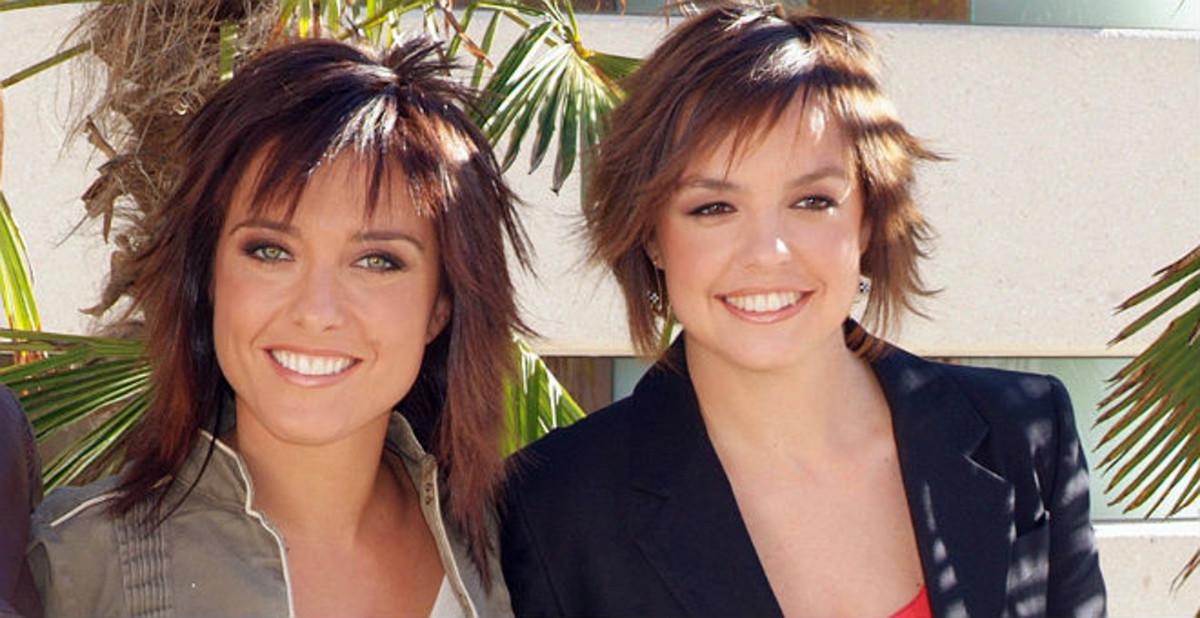 Helena Resano (izquierda) y Cristina Villanueva, en una imagen promocional de La Sexta de hace varios años.