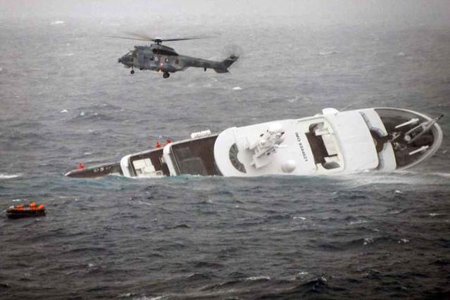'Yogi' descansa en el fondo del mar Egeo