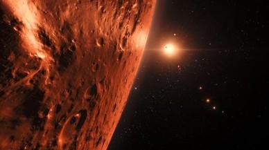 Los radioastrónomos buscan vida inteligente en los siete exoplanetas