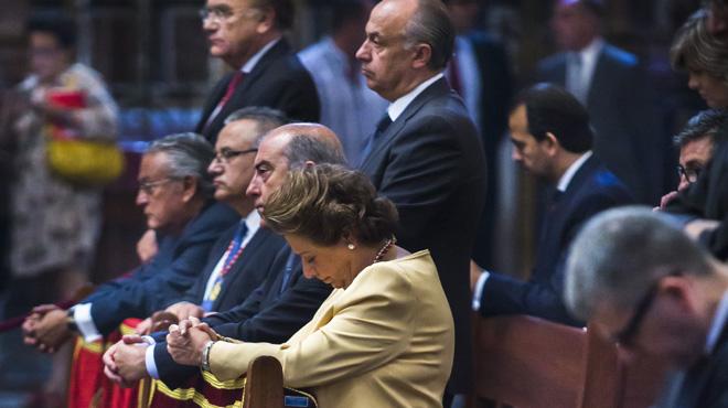 La senador popular Rita Barberá, aforada, solo podría ser llamada a declarar por el Supremo