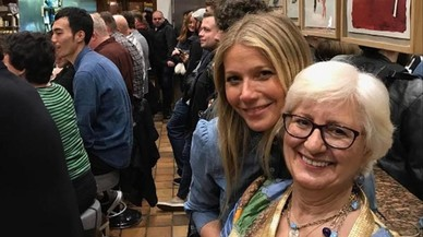 "Gwyneth Paltrow, con su ""mamá española"", en Cal Pep."