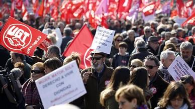 Los sindicatos salen a la calle para pedir un empleo digno